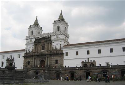 An Impressive Colonial Building in Quito, Ecuador