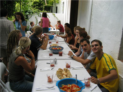 paella lunch in the school - great time!