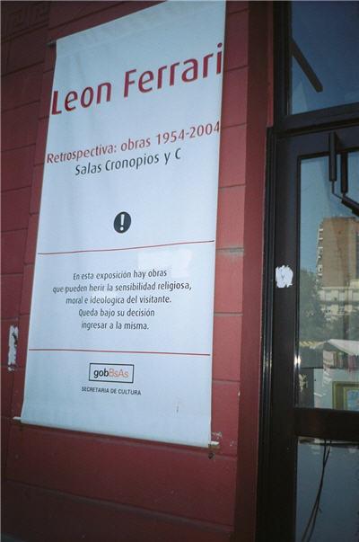 Leon Ferrari Exhibition Argentina