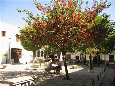 another plaza, albayzin, granada, spain