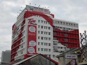 Tune Hotel in Penang, Malaysia
