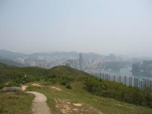 overlooking Tsuen Wan